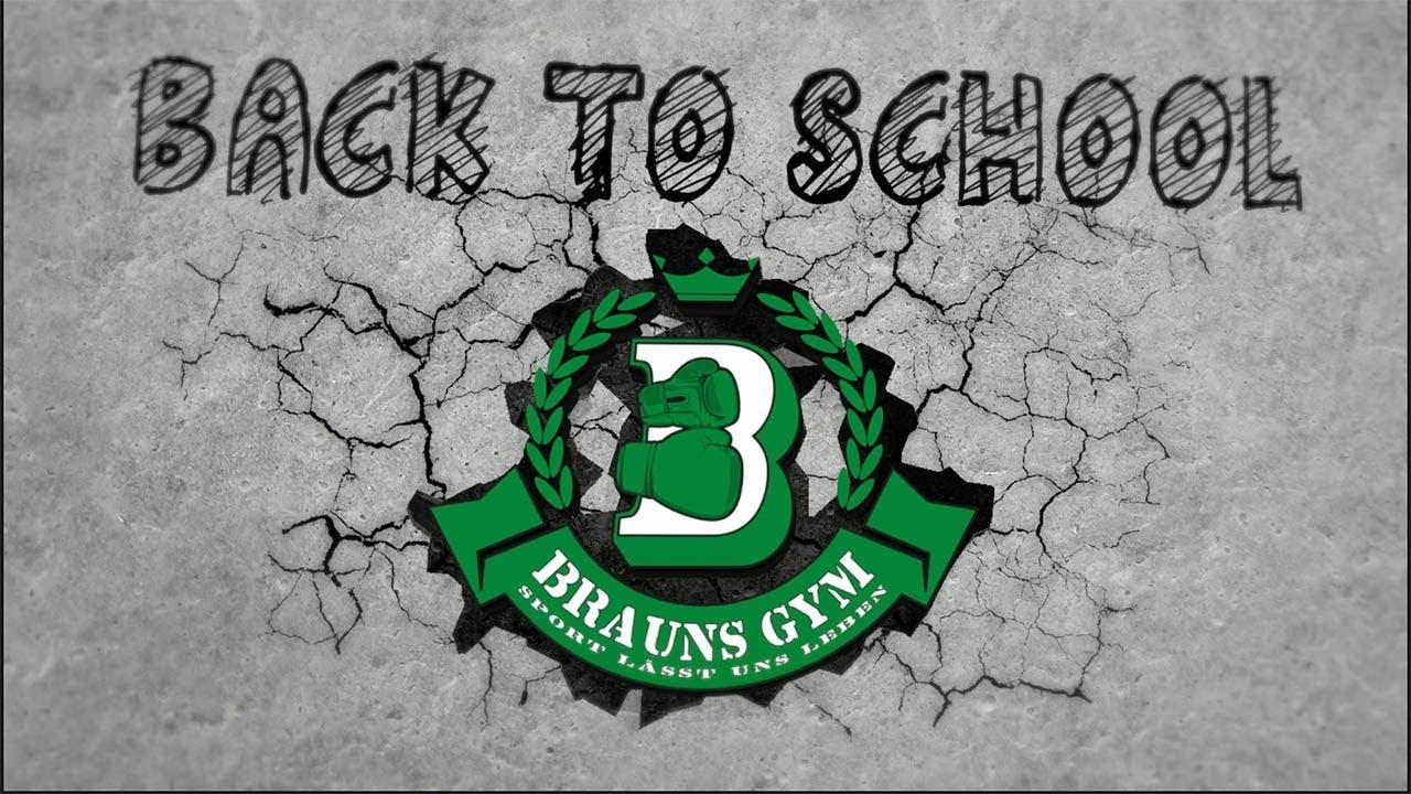 "Brauns Gym, Ferienprojekt ""back to school"" , Fulda"