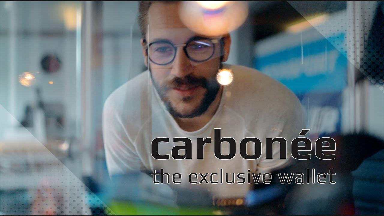 carbonée – the exclusive wallet