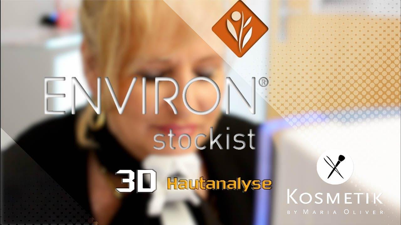 """ENVIRON 3D Hautanalyse bei """"Kosmetik by Maria Oliver"""""""