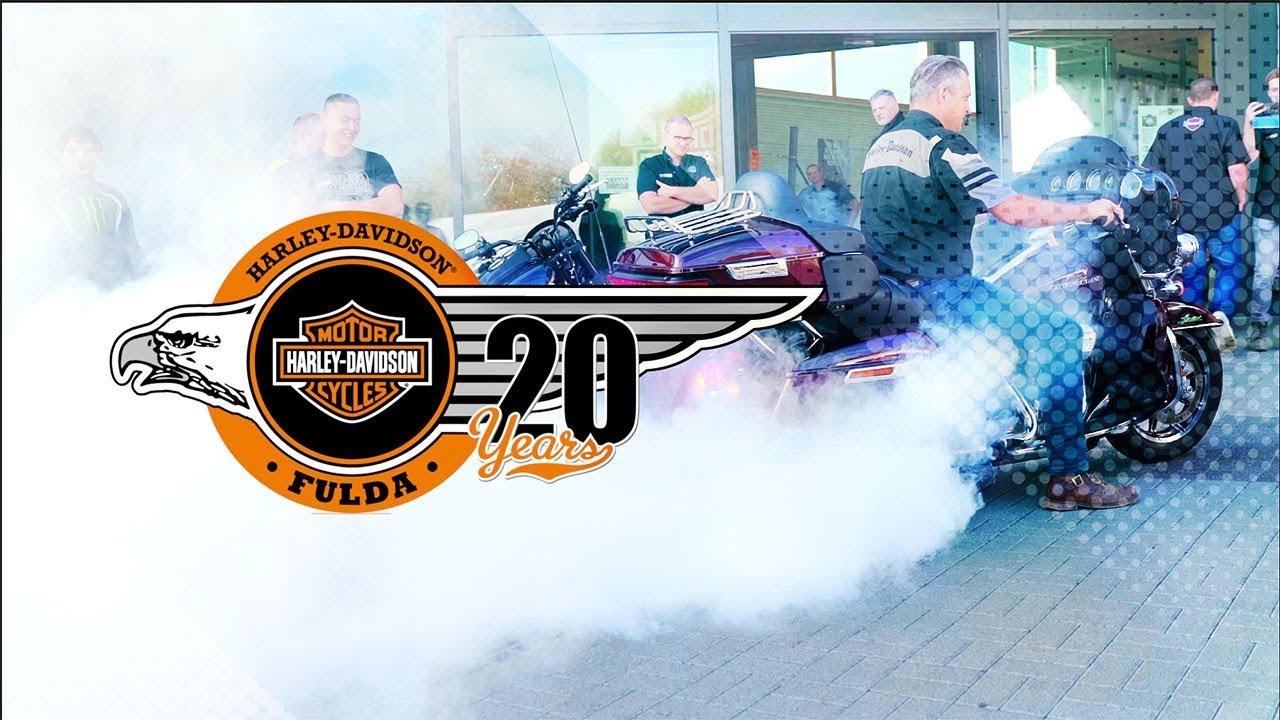 Harley Davidson 20 jähriges Jubiläum