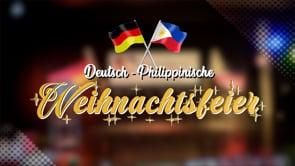 Deutsch-philippinische Weihnachtsfeier