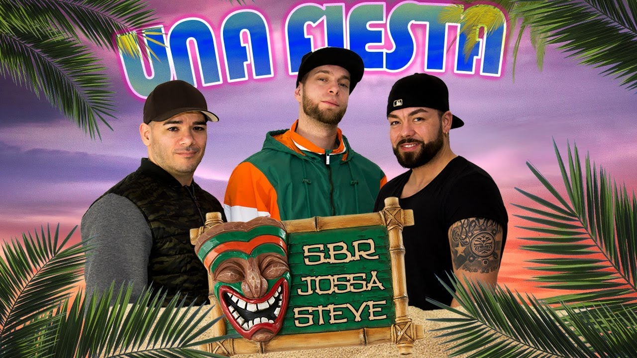 Dreharbeiten zum Musikvideo Una Fiesta