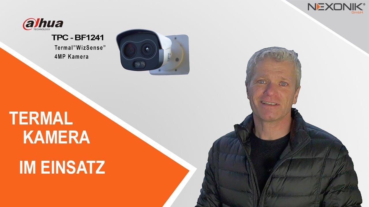 "Prävention durch TPC–BF1241 Thermal ""WizSense"" 4MP Kamera"
