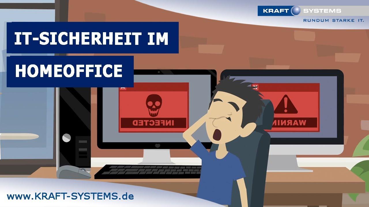 Erklärfilm: Mit KRAFT SYSTEMS hohe IT-Sicherheit im Homeoffice!